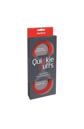 Quickie Cuffs Red (Medium)