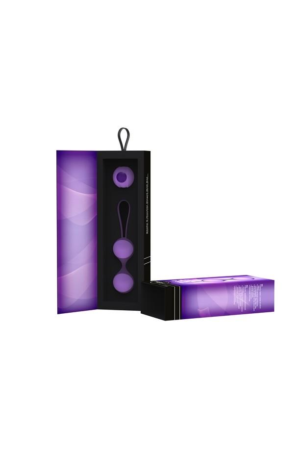 Stella II Double Kegel Ball Set - Lavender