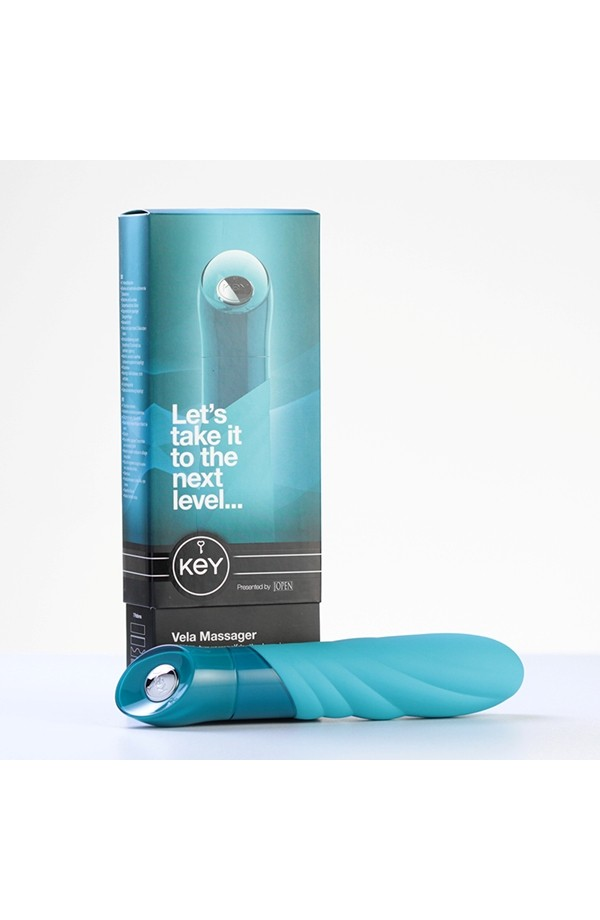 Vela Massager - Robin Egg Blue