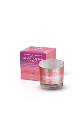 DONA Massage Candle - Blushing Berry