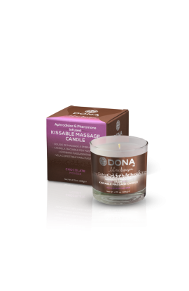 DONA Kissable Massage Candle Chocolate Mousse