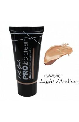 Pro BB Cream HD Beauty Balm – Light/Medium