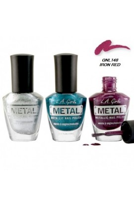 Metal Nail Polish – Iron Red