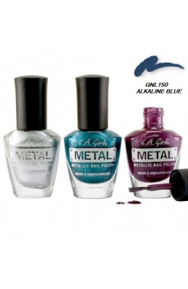 Metal Nail Polish – Alkaline Blue