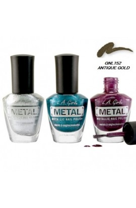 Metal Nail Polish – Antique Gold
