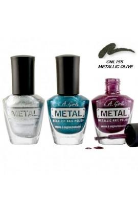 Metal Nail Polish – Metallic Olive