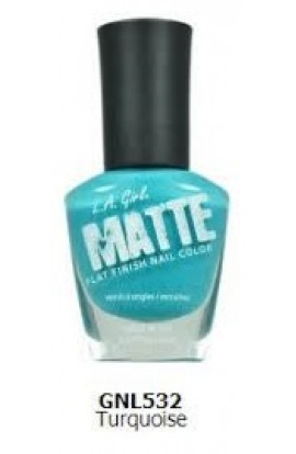 Matte Finish Nail Color – Turquoise
