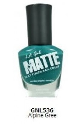 Matte Finish Nail Color - Alpine Gree