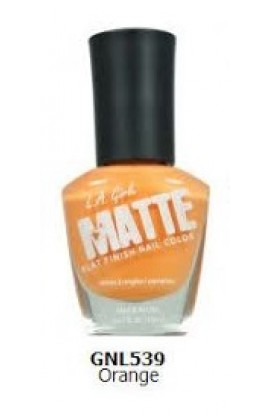 Matte Finish Nail Color – Orange