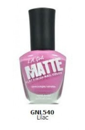 Matte Finish Nail Color – Lilac