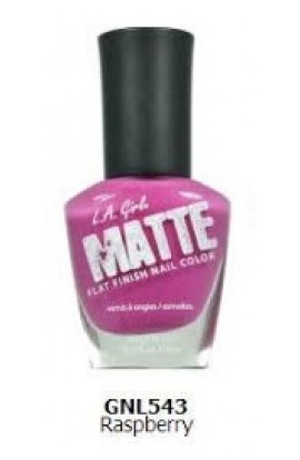 Matte Finish Nail Color – Raspberry