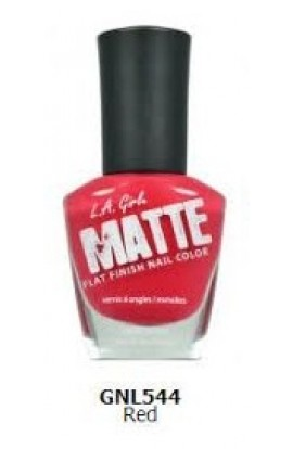 Matte Finish Nail Color – Red