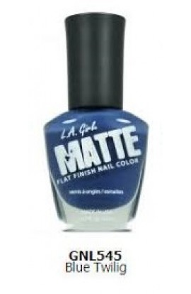 Matte Finish Nail Color - Blue Twilig