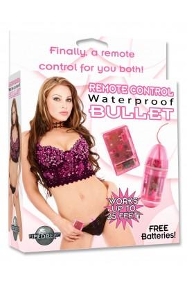 Remote Control Bullet – Bleikt