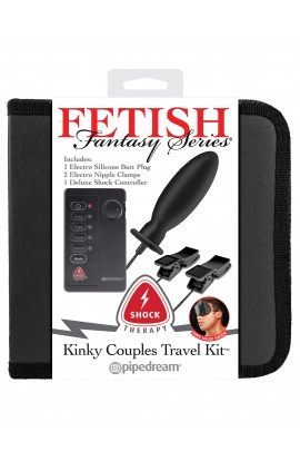 Shock Therapy Kinky Couples Travel Kit