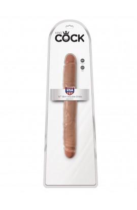 "King Cock 12"" Slim Double Dildo"