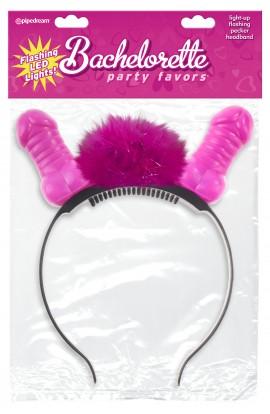 Bachelorette Party Favors Pecker Flashing Headband