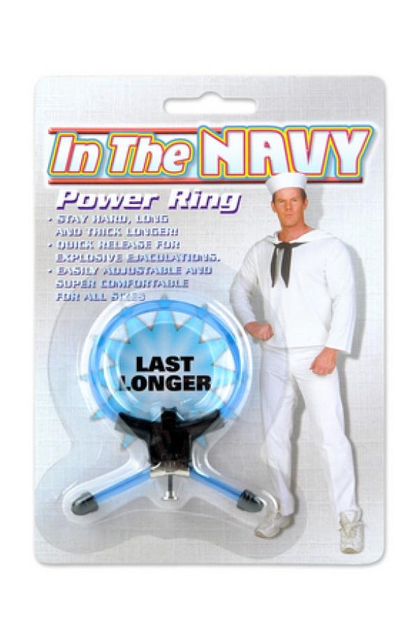Blue Navy Power Ring
