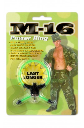 Green M-16 Power Ring