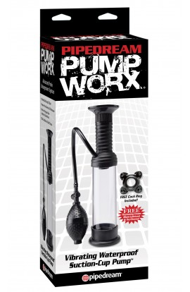 Pump Worx: Vibrating Suction-Cup Pump