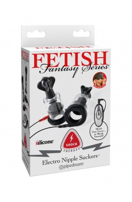 Shock Therapy Electro Nipple Suckers