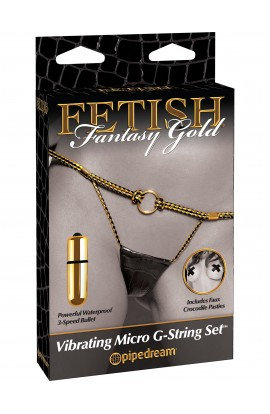 Vibrating Micro G-String Set