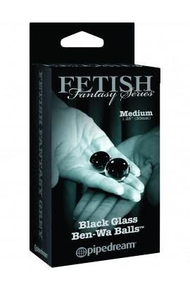 Medium Black Glass Ben-Wa Balls