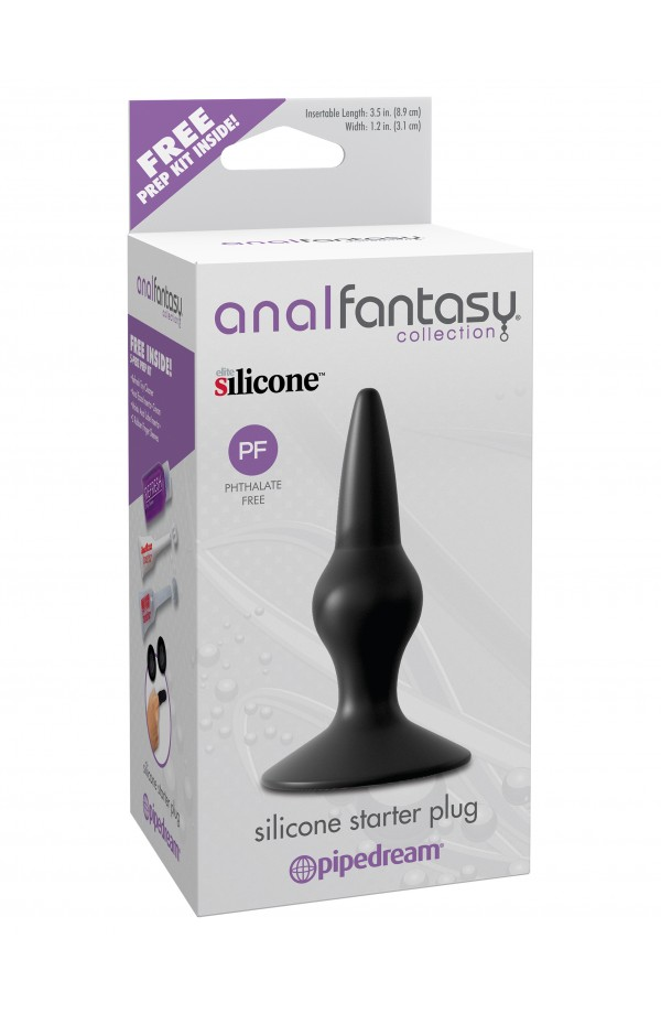 Anal Fantasy Collection - Silicone Starter Plug
