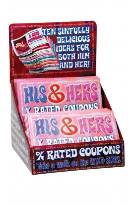 His and Hers X-Rated Coupons
