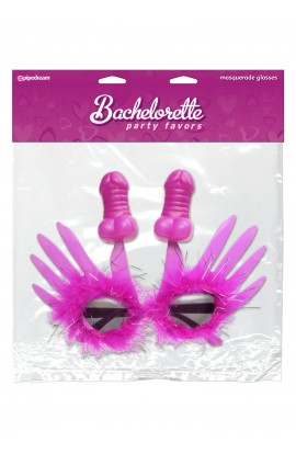 Bachelorette Party Favors Masquerade Glasses