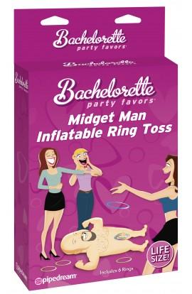 Bachelorette Midget Man Inflatable Ring Toss