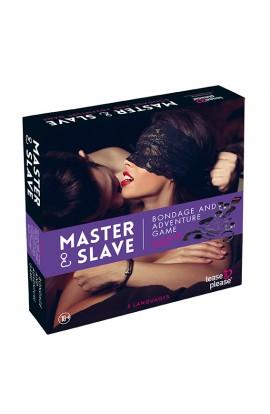 Master & Slave Bondage Game – Fjólublátt