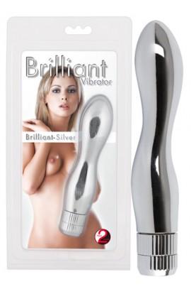 """Vibrator """"Brillant Silver"""""""