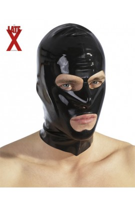 Latex Mask black
