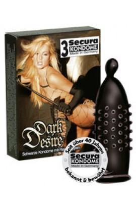 Secura Dark Desire - 3 stk