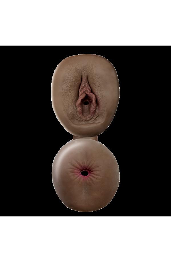 CyberSkin® Fresh Pussy & Ass, Dark